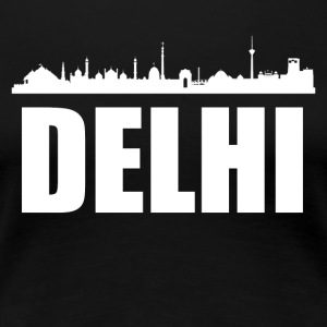 Delhi Skyline - Women's Premium T-Shirt