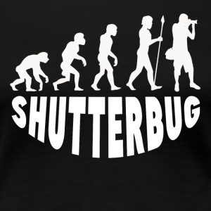 Shutterbug Evolution - Women's Premium T-Shirt