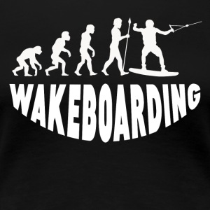 Wakeboarding Evolution - Women's Premium T-Shirt