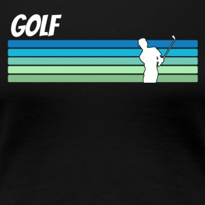 Retro Golf - Women's Premium T-Shirt