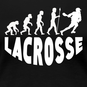 Lacrosse Evolution - Women's Premium T-Shirt
