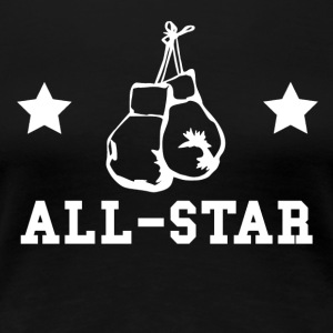 Boxing All Star - Women's Premium T-Shirt