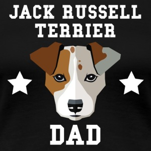 Jack Russell Terrier Dad Dog Owner - Women's Premium T-Shirt