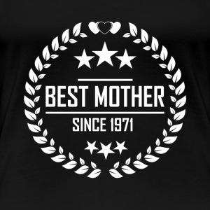 Best mother since 1971 - Women's Premium T-Shirt
