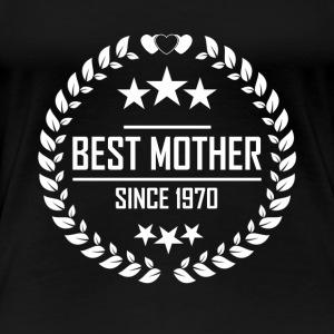 Best mother since 1970 - Women's Premium T-Shirt