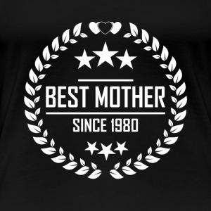 Best mother since 1980 - Women's Premium T-Shirt