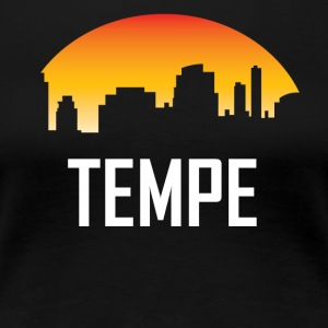 Tempe Arizona Sunset Skyline - Women's Premium T-Shirt