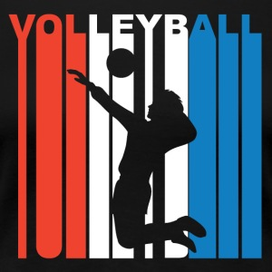 Red White And Blue Volleyball - Women's Premium T-Shirt