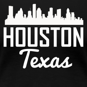 Houston Texas Skyline - Women's Premium T-Shirt