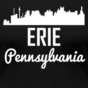 Erie Pennsylvania Skyline - Women's Premium T-Shirt