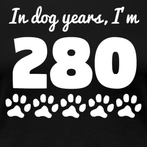 Dog Years 40th Birthday - Women's Premium T-Shirt