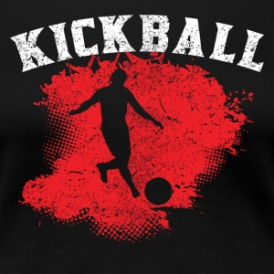 Kickball - Women's Premium T-Shirt