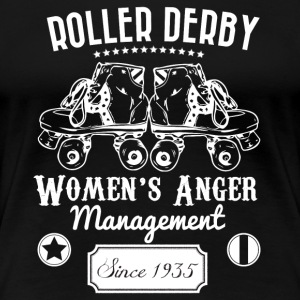 Roller Derby - Women's Anger Management Since 1935 - Women's Premium T-Shirt