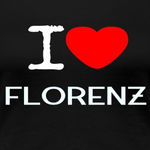 I LOVE FLORENZ - Women's Premium T-Shirt