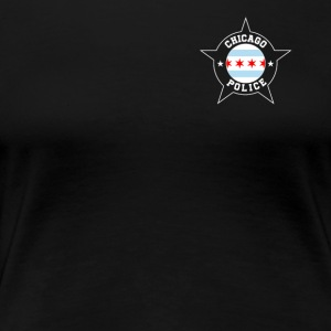Chicago Police T Shirt - Chicago Flag - Women's Premium T-Shirt