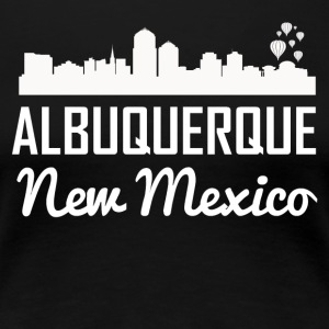 Albuquerque New Mexico Skyline - Women's Premium T-Shirt