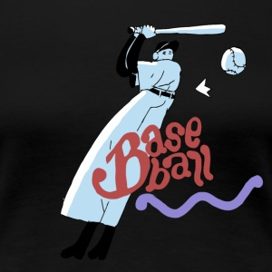 baseball_boy - Women's Premium T-Shirt