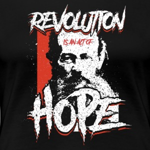 Kropotkin - Revolution Is Hope - Women's Premium T-Shirt
