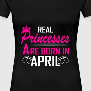 April - Birthday - Princess - EN - Women's Premium T-Shirt