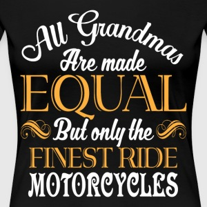 The Finest Ride Motorcycles T Shirt - Women's Premium T-Shirt