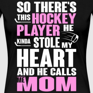 Hockey Player T Shirt - Women's Premium T-Shirt