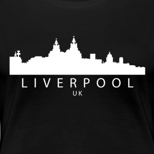 Liverpool England UK Skyline - Women's Premium T-Shirt