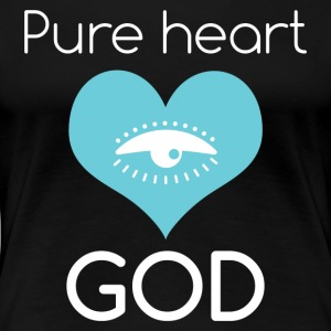 Pure Heart Christian T-shirt - Women's Premium T-Shirt