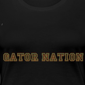Gator Nation Plus Size Fit - Women's Premium T-Shirt