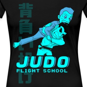 JUDO FLIGHT SCHOOL - Women's Premium T-Shirt