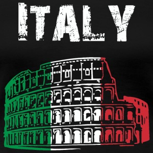 Nation-Design Italy Coliseum - Women's Premium T-Shirt
