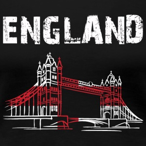 Nation-Design England Tower Bridge - Women's Premium T-Shirt