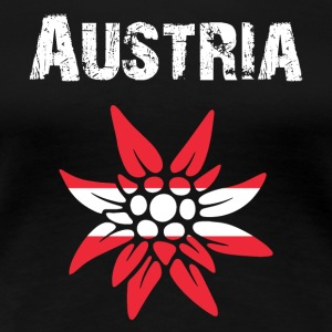 Nation-Design Austria Edelsweiss - Women's Premium T-Shirt
