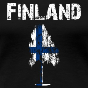 Nation-Design Finland Birch - Women's Premium T-Shirt