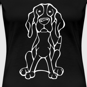 Do you love your Treeing Walker Coonhound - Women's Premium T-Shirt
