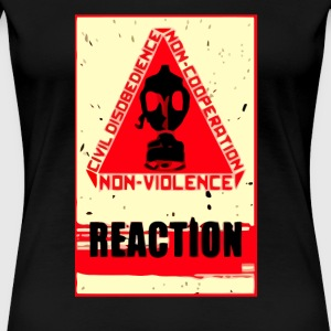 Civil Disobedience Anarchy - Women's Premium T-Shirt
