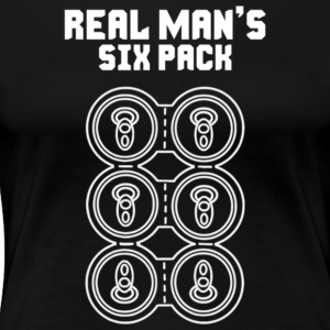 Real Man s Six Pack - Women's Premium T-Shirt
