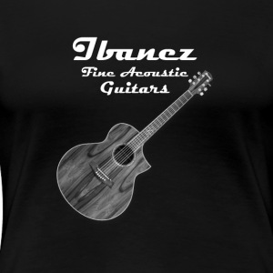 Ibanez Fine Acoustic Guitars - Women's Premium T-Shirt