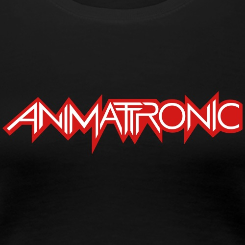 Animattronic Waveform Logo - Women's Premium T-Shirt