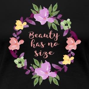 Beauty has no size - Women's Premium T-Shirt