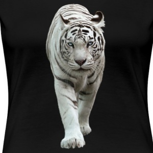 White Tiger - Women's Premium T-Shirt