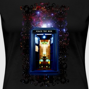 Tardis bigger on the inside - Women's Premium T-Shirt
