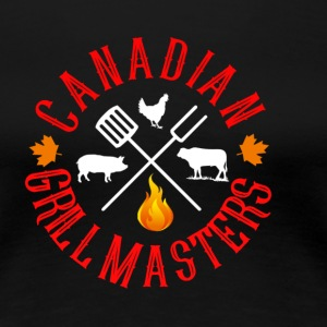Canadian Grill Master Logo - Women's Premium T-Shirt