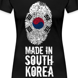 Made In South Korea / Südkorea / 대한민국, 大韓民國 - Women's Premium T-Shirt
