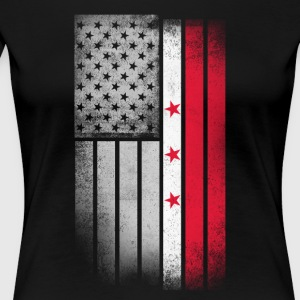 District of Columbia Flag - Women's Premium T-Shirt