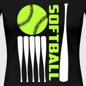 Softball T Shirt - Women's Premium T-Shirt