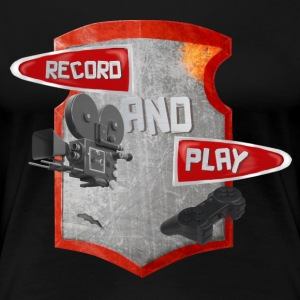 Rec and Play - Women's Premium T-Shirt