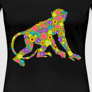 Monkey Flower Shirt - Women's Premium T-Shirt