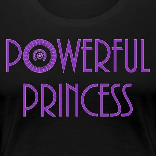 Powerful Princess - Women's Premium T-Shirt