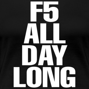 F5 Refresh T Shirt - Women's Premium T-Shirt