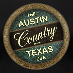 The Austin Country Music Texas - Women's Premium T-Shirt